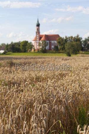 niemcy bawaria sanktuarium vilgertshofen z polem