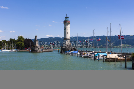 germany bavaria view of lighthouse at