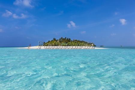 malediwy polnocny male atoll embudu wyspa