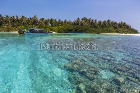 malediwy polnocny male atoll embudu lodzi