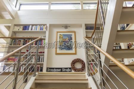 niemcy dom jednorodzinny widok wnetrza