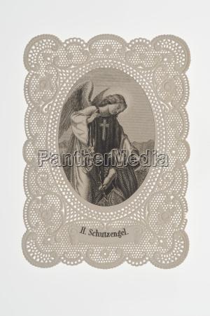 religia ornament aniol anioly aniolow plac