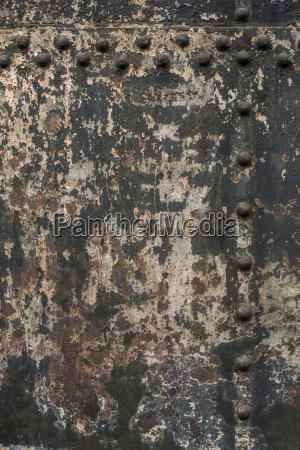 kolor mur metal na zewnatrz fotografia
