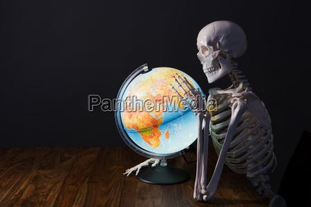 szkielet gospodarstwa globu