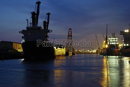 germany bremen bremerhaven seaport kaiserhafen i