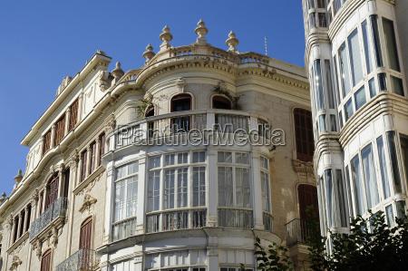 spain mallorca palma colonial style houses