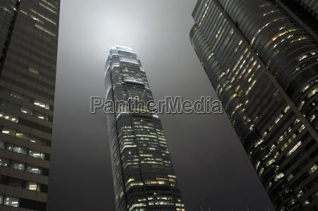 chiny hongkong miedzynarodowe centrum finansowe w
