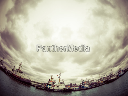 germany hamburg port of hamburg harbor