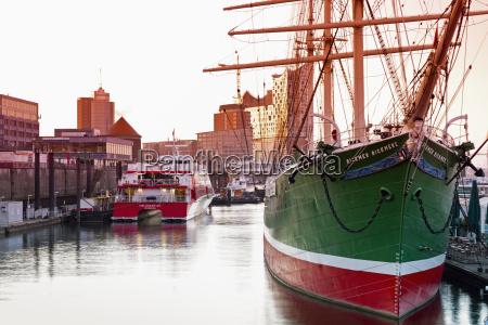 germany hamburg sailing boat rickmer rickmers