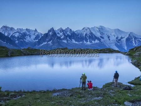 france mont blanc lake cheserys photographers