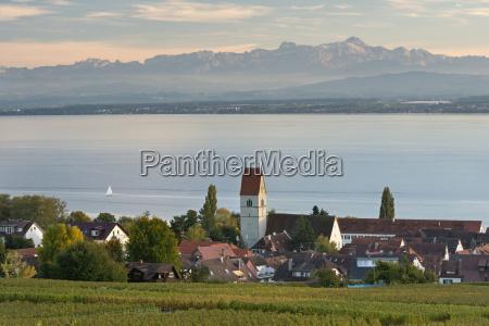 germany baden wuerttemberg view of vineyard
