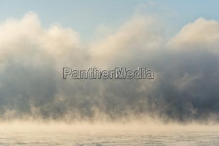 germany baden wurttenberg sipplingen mist over
