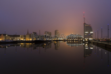 germany bremerhaven view of city with