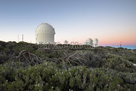 spain canary islands teneriffe teide observatory