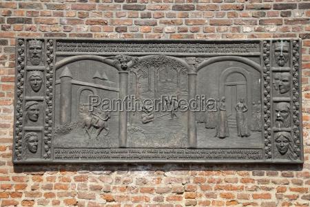 germany north rhine westphalia xanten relief