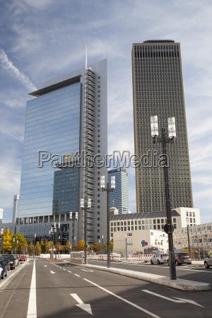 germany hesse frankfurt office towers