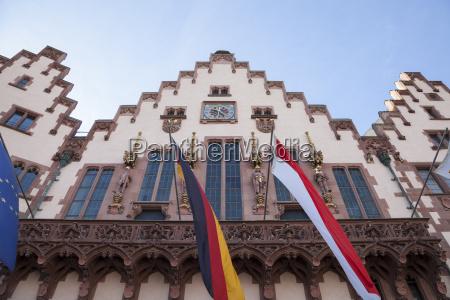 germany hesse frankfurt town hall roemer