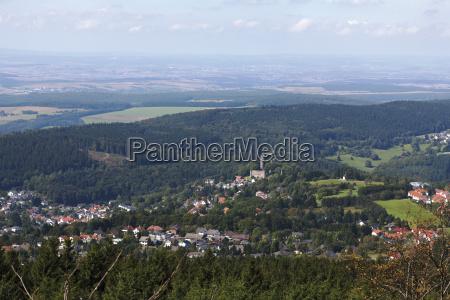 europe germany hesse frankfurt view of