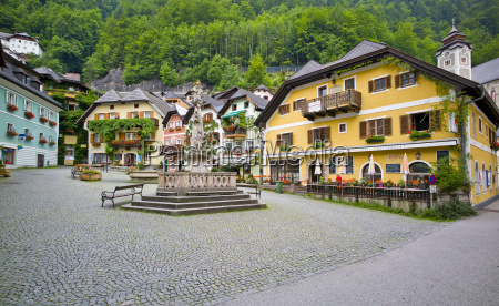 austria upper austria hallstatt view of