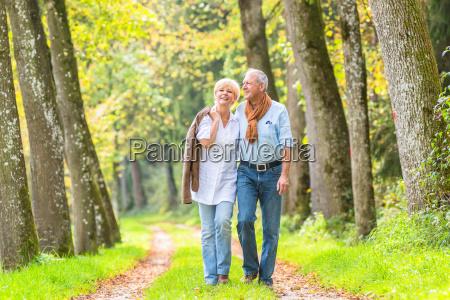 senior para o spacer w lesie