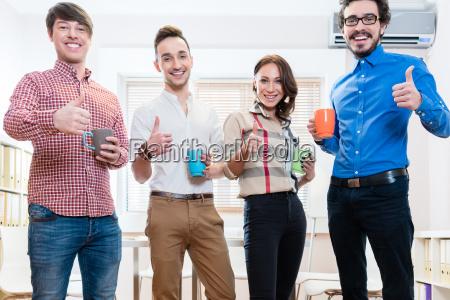 mlodzi kreatywni przedsiebiorcy sa zmotywowani
