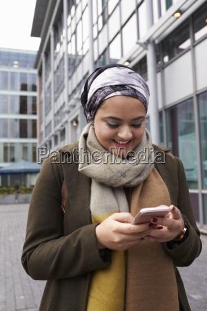 brytyjska kobieta muzulmanskie tekst na telefon