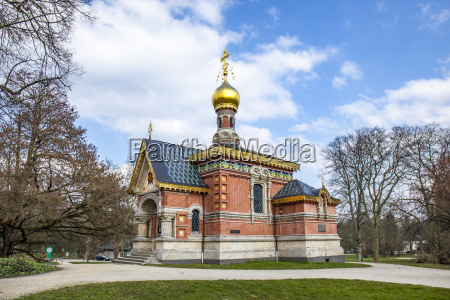 russian orthodox chappel in bad homburg