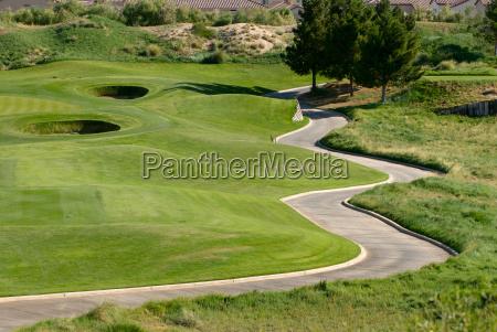 sport sporty na zewnatrz golf gra