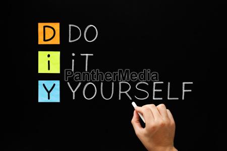 diy do it yourself