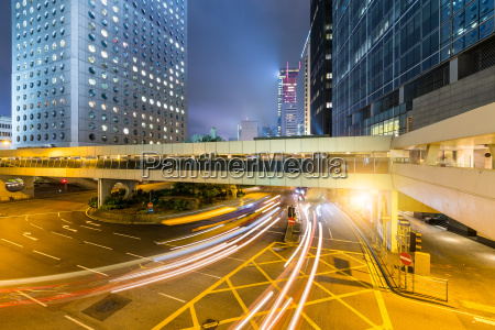 Zycie miejskie w hong kongu