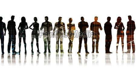 profesjonalisci zespolu biznesowego