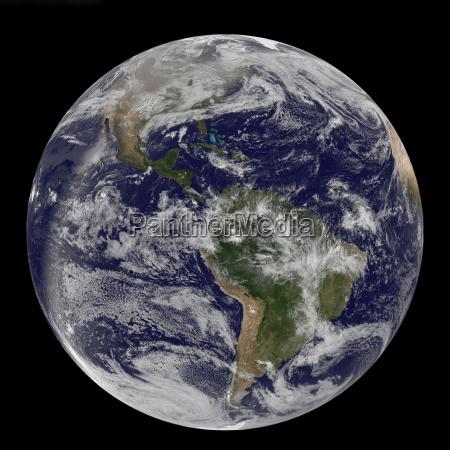 espaco nuvem america america central atlantico