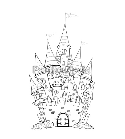 castle outline