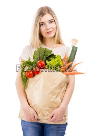 kobieta womane baba piekny mily zakupy
