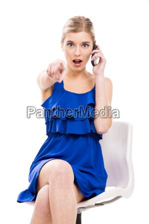 kobieta womane baba telefonowac piekny mily