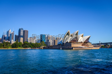 sydney city center i opera house