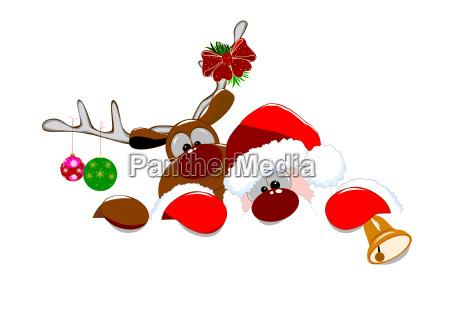 swiety mikolaj i jelenie 2
