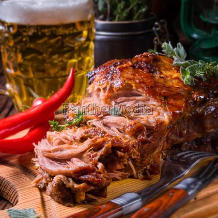 smaczny grill wieprzowina
