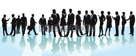 business conferencedyskusjailustracja