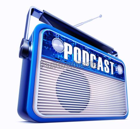 dzwiek komunikacja glos radio plyta rekord