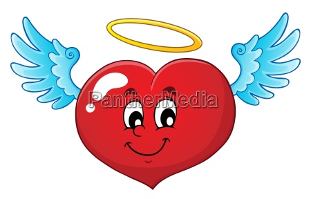 valentine serce temat obrazu 4