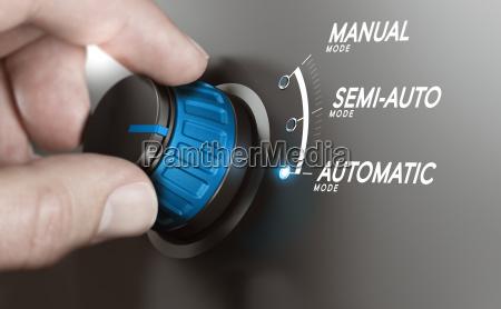 automatyczne testowanie lub automatyzacja procesow produkcyjnych