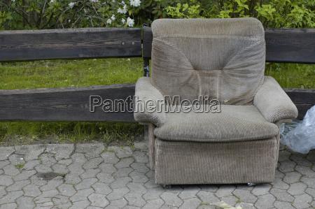 armchair furniture chairs convenient sits housing