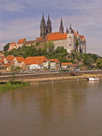 brd germany saxony meissen at the