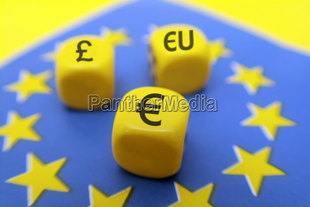 symbol picture pound and euro in