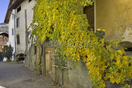 old farmhouse glurns obervinschgau sudtirol italy