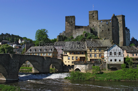 historic old town city of runkel