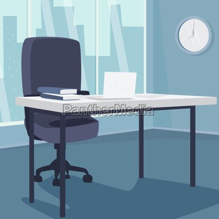 fotel krzeslo biuro laptop notebook komputerow