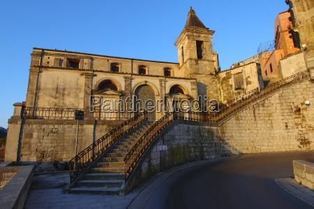 chiesa delle scale staircase church ragusa