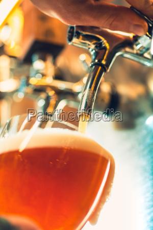 statek piwny stol barowy zawory stalowe
